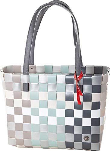 Witzgall - Ice-Bag Chic Shopper Mix altgrün Korbtasche - 5030-26-0U
