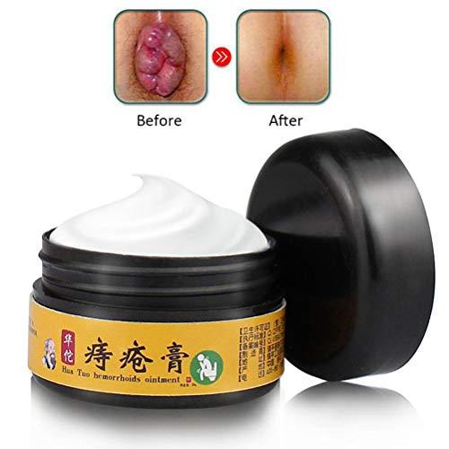 Hemorrhoid Cream, Hemorrhoids Ointment, Cream Maximum Strength Relief, Natural For Healing, for Hemorrhoids Fissures Bleeding, Natural Fast Pain Relief Cream 30g