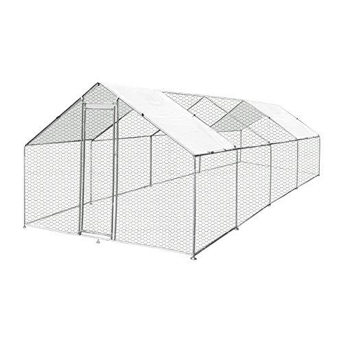 Enclos poulailler/Volière extérieur 24m2