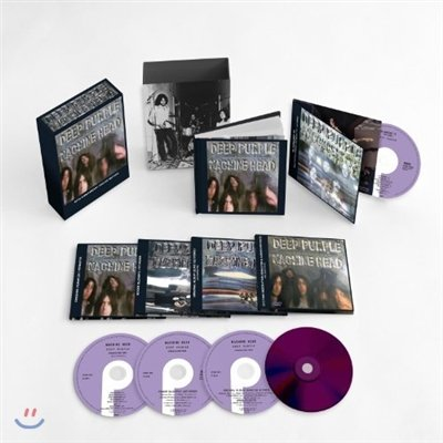POP CD, Deep Purple - Machine Head (Deluxe Limited Version) 4CD+DVD+60P hardcover booklet included [002kr]