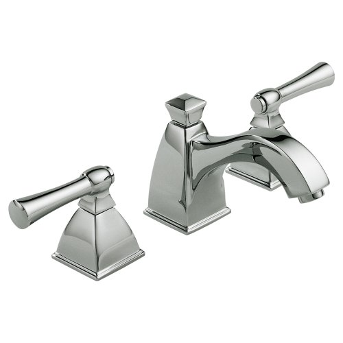 Brizo 65340LF-PC Vesi Bathroom Faucet Double Handle Widespread with Metal Lever Handles, Chrome