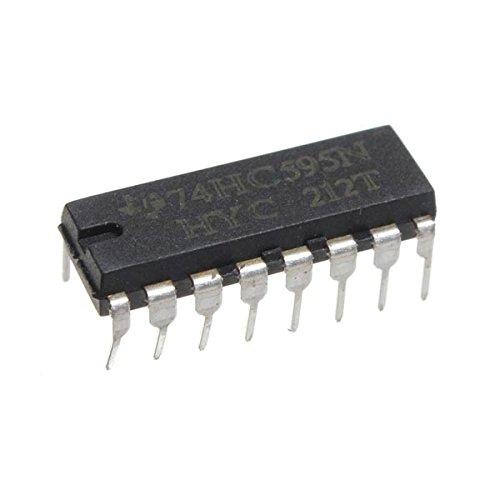 25 Stücke SN74HC595N 74HC595 74HC595N HC595 DIP-16 8 Bit Shift Register I