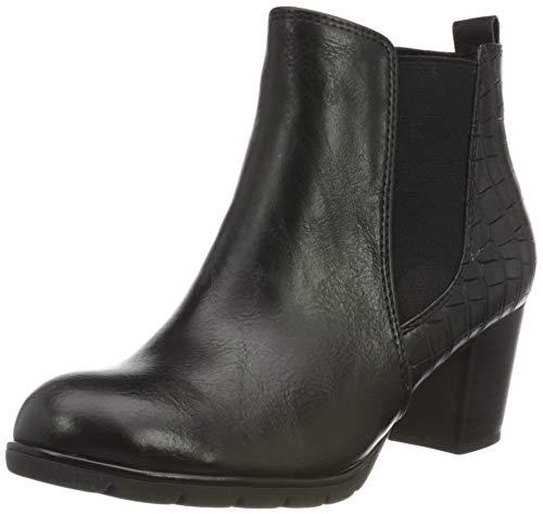 MARCO TOZZI Damen 2-2-25395-35 Stiefelette, Black Antic Comb, 39 EU