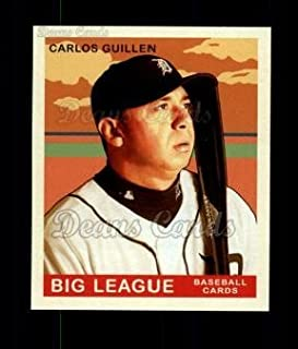 2007 Upper Deck Goudey Green Backs # 126 Carlos Guillen Detroit Tigers (Baseball Card) Dean's Cards 8 - NM/MT Tigers