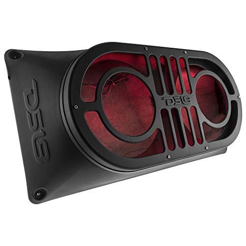 "DS18 JMID Jeep Wrangler JK, JKU & JL (2007-2019) Midrange and Tweeter Unloaded 10"" Enclosure Box"