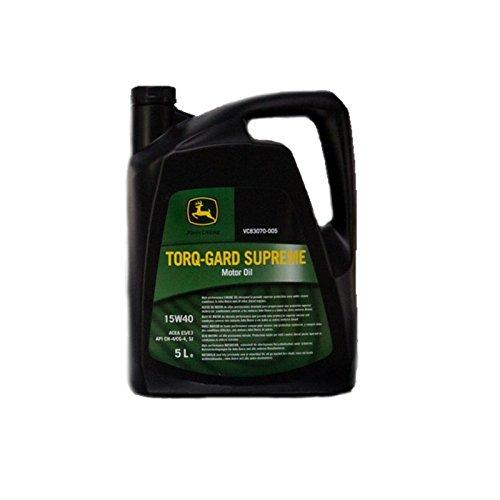John Deere Torq Gard, Traktoröl, 15 W40, 5 l