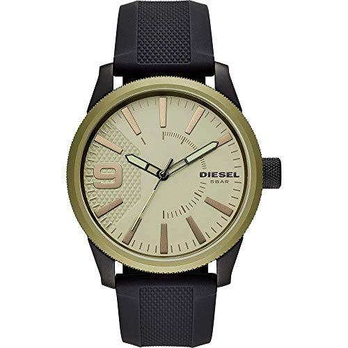 Diesel Reloj Analógico para Hombre de Cuarzo con Correa en Silicona DZ1875