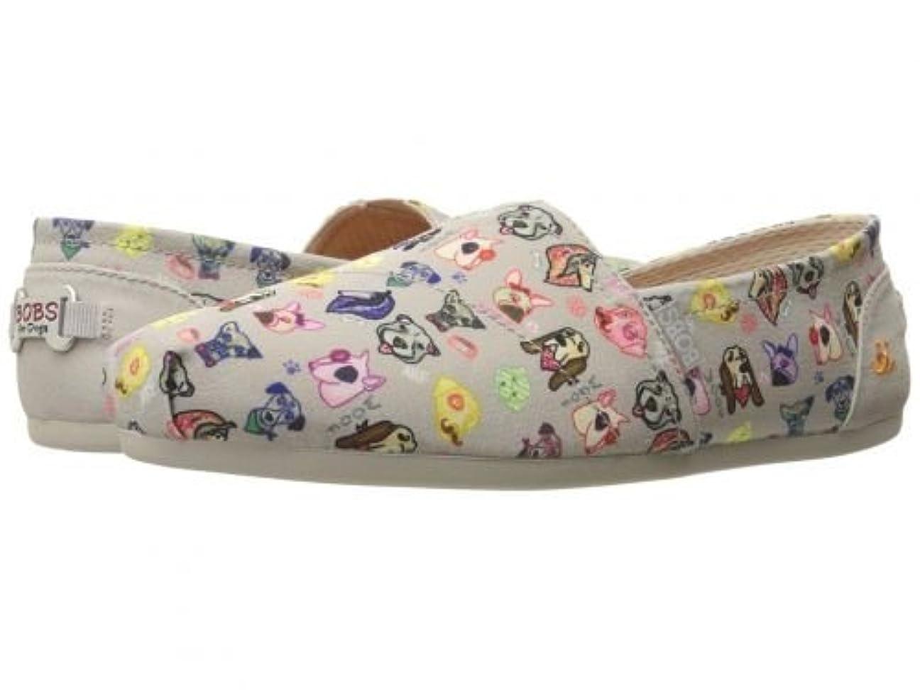 無心共和党意見[ボブス スケッチャーズ] レディース 女性用 シューズ 靴 ローファー ボートシューズ Bobs Plush - Taupe [並行輸入品]