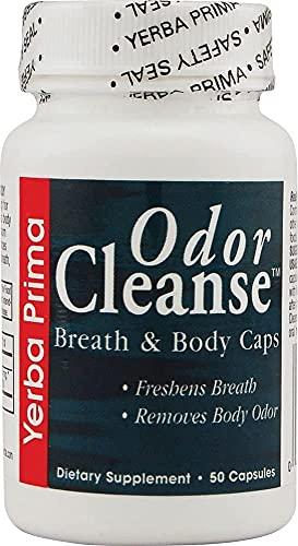 Odor Cleanse -- 50 Capsules