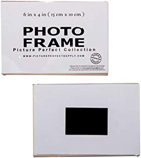 Photo Booth Frames - 6x4 Clear Acrylic Picture Frame Magnet Magnetic Acrylic Photo Frame Refridgerator (10 Pack)