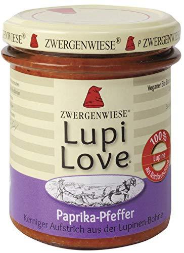 Zwergenwiese Bio LupiLove Paprika-Pfeffer (6 x 165 gr)