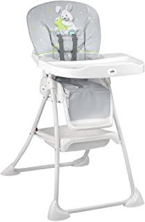 Cam Compact Fold Mini Plus High Chair (6-36 Months) - Grey