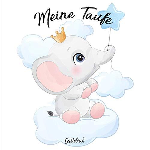 Meine Taufe Gästebuch: Erinnerungsalbum | Taufbuch | Erinnerungsbuch | Deko Taufe | Taufgeschenk
