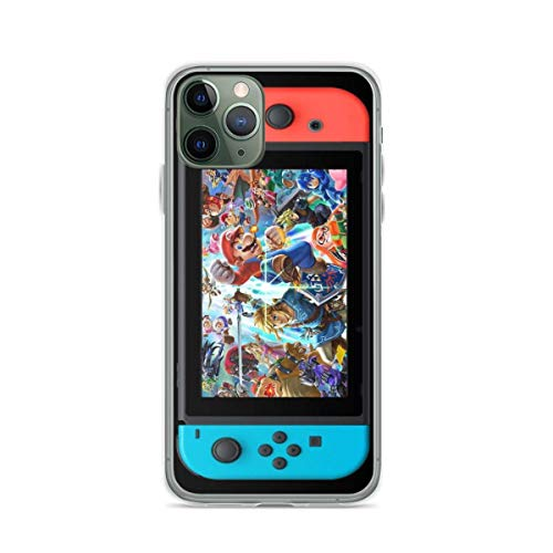 Phone Case Super Smash Bros Ultimate Switch Phone Case Compatible with iPhone 6 6s 7 8 X XS XR 11 Pro Max SE 2020 Samsung Galaxy Tested Anti