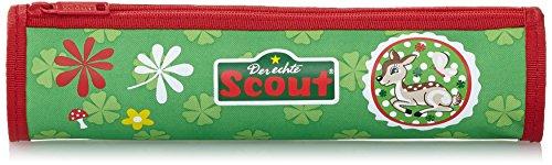 Scout Schulranzen-Set Schlamperrolle Sweety 22 cm Grün 61470086400