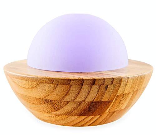 SKYE Bamboo & Glass: Made by Zen Ultraschall-Diffuser mit Mood Lighting, hergestellt aus Großbritannien.
