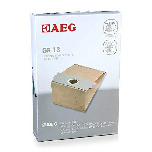 AEG 2681032091 Staubsaugerbeutel Original Gr. 13 passend für Vampyr Serie 400…499