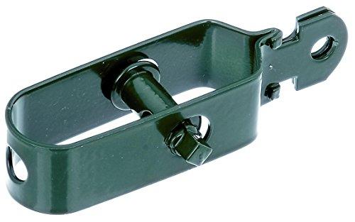 Gah-Alberts 611217, Tendifilo, zincato, rivestito in plastica, colore: Verde, taglia 3/115 mm / 50 pz.