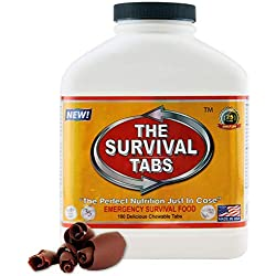 Survival Tabs – 15 day Survival Food Supply – Gluten Free and...
