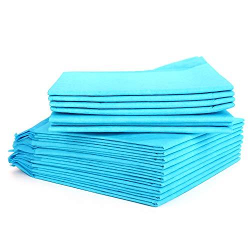 Almohadillas grandes para cambiar,almohadilla desechable para mascotas100 unidades almohadilla para incontinencia transpirable prueba fugas colchón portátil impermeable alta absorción,Large18*23.6inch