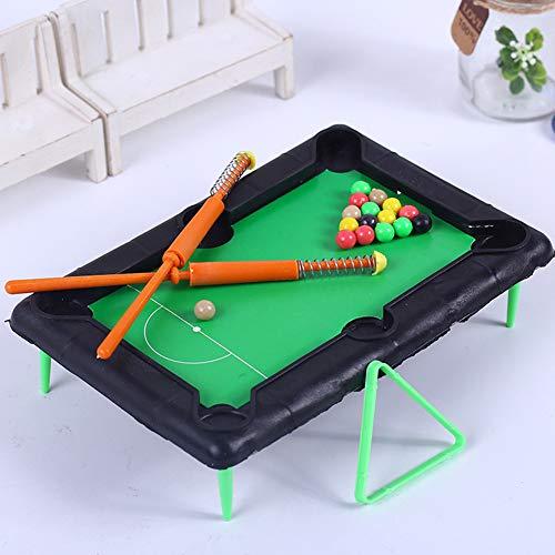 xMxDESiZ - Juego de Mesa de Billar portátil para niños