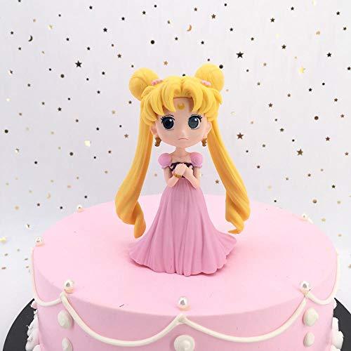 Decorazione Torta di Compleanno Decorazione da Forno Principessa Biancaneve-Grigio Chiarozeenca