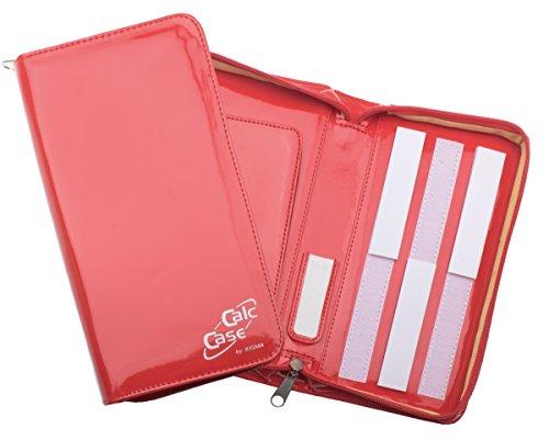 Schutztasche für Grafikrechner, Lack, rot