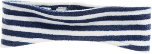 Playshoes Kinder-Unisex Fleece-Stirnband maritim wärmendes Accessoire mit Klett-Verschluss, Marine/weiß, one size