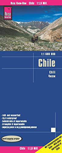 Reise Know-How Landkarte Chile 1 : 1.600.000