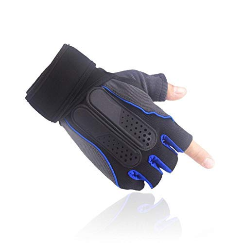 Silica gel Anti Slip Gym Gloves with Wrist Suuport Men and Women