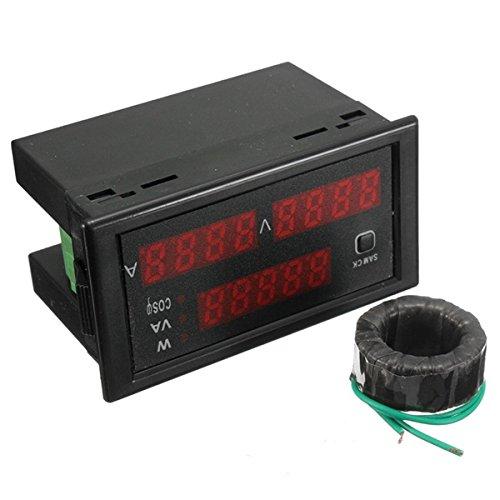 AC 110-220V 100A Digital Watt Metro de energía 80-300V