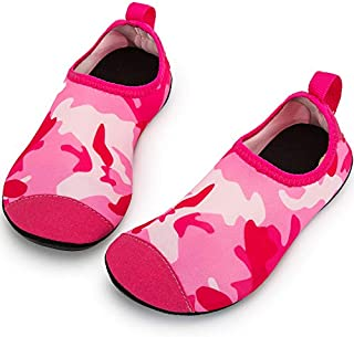 Crova Kids Water Shoes Quick Dry Aqua Socks Non-Slip...