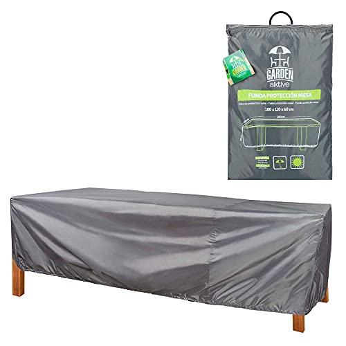 AKTIVE 61500 - Funda protectora mesa de jardín 180x110x60 cm AKTIVE garden