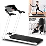 Folding Under-Desk Walking Treadmill | Electric Treadmill with Large Screen | Jogging Exercise Machine for Home Gym,Portable Running Machine with Shock Absorption and Non-Slip
