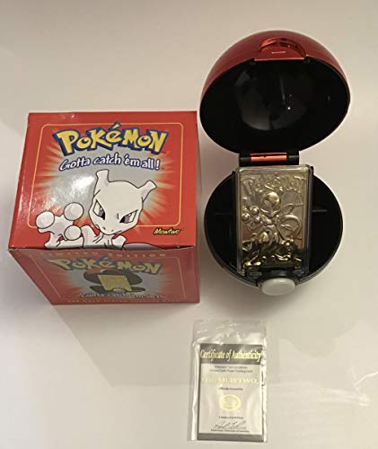 Pokemon 23K Gold-Plated Trading Card Limited Edition - Mewtwo