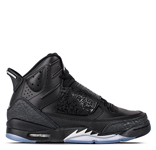 Jordan Son of BG Youth Basketball Shoes (5.5 M US, Black/Metallic Silver-Anthracite)