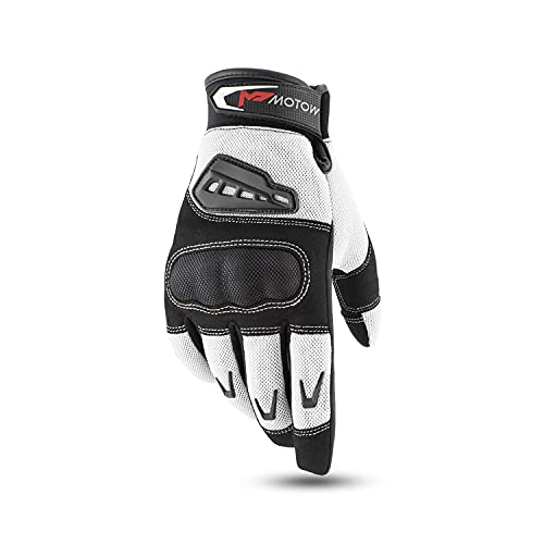 MOTOW Motorcycle Gloves for Men Women, Summer Powersports Gloves for ATV MTB Dirt Bike Racing Riding...