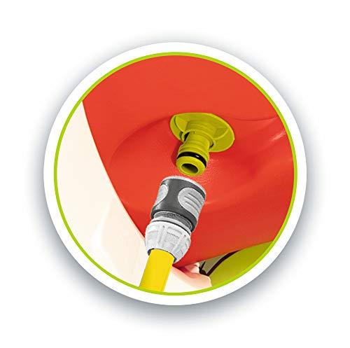 Smoby – Stelzenhaus - Spielhaus mit Rutsche, XL Spiel-Villa auf Stelzen, mit Fenstern, Tür, Veranda, Leiter, für Jungen und Mädchen ab 2 Jahren - 6