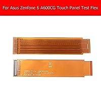 100%GeniuneタッチスクリーンAsus Zenfone 6 A600CG A601CG T00G Z002フロントパネル接続テストフレックスケーブル延長フレックスケーブルパーツ