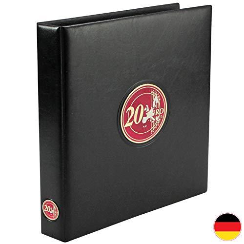 SAFE 7344 PREMIUM Münzen Sammelalbum 20 Euro Gedenkmünzen Deutschland ab 2016-2 Münzblättern & farbigen Vordruckblättern