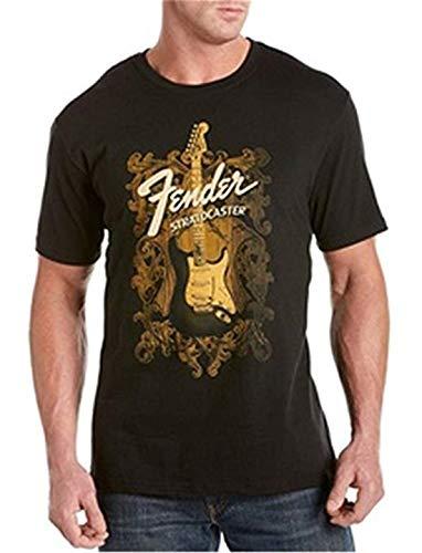 SOFT99 T-Shirt Fender Strat Gitarre Baumwolle Gr. XL, Schwarz