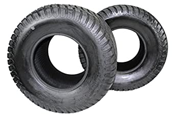 Antego Set of Two New 26x12.00-12 4 Ply Turf Tires for Lawn & Garden Mower  2  26x12-12