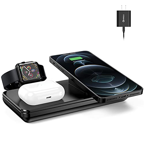 Wireless Charging Station for Apple Products Only $12.99 (Retail $32.48)