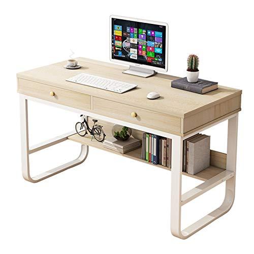 Escritorio de Computadora de Oficina Escritorio de computadora de la computadora de la computadora del escritorio de la computadora del estante de almacenamiento de múltiples capas Práctico y Convenie