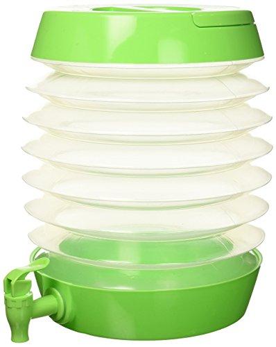 Zees Inc Pocket Bottles Tg3202 Getränkespender, faltbar, Limettengrün