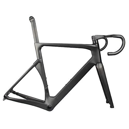 GWZZ Bastidor de la Bicicleta Accesorios Ligera Fibra de Carbono Total Carretera...