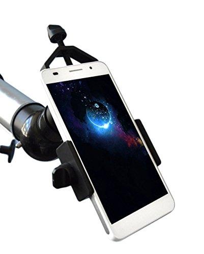 Soporte adaptador universal para teléfono móvil compatible con telescopio y microscopio de alcance monocular Binocular para iPhone, Sony, Samsung, Moto, etc.