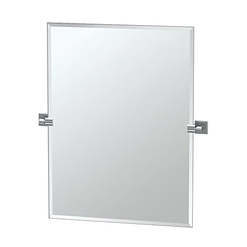 5de0a50dc9a Gatco 4059S Elevate Frameless Rectangle Mirror
