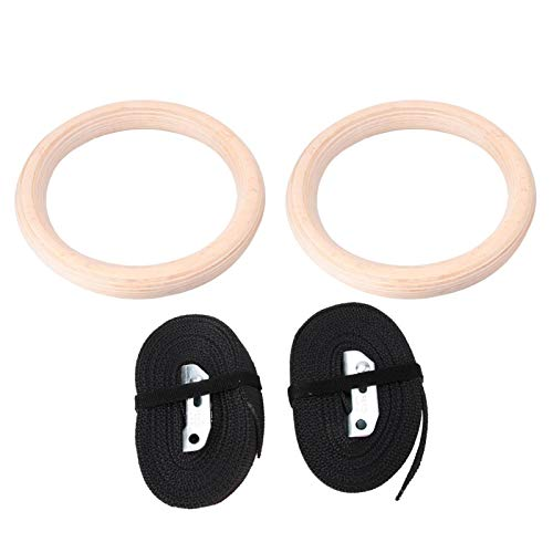 DAUERHAFT Gymnastic Ring Gymnastic Fitness Gym Ring easy to install Durable,for Gym,for Fitness