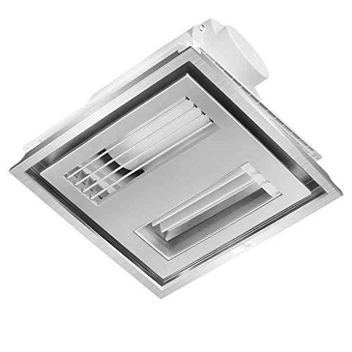 Ventilador Extractor Ventilación para Baño 300 * 300 Empotrado En El Techo Extracción De La Cocina Doméstica Delgada Ventilación Integrada